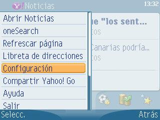 Yahoo! Go Nokia E61