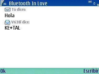 Bluetooth in love, E61