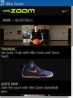Nike Zoom Mobile
