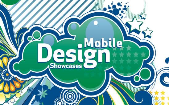 Mobile design showcases