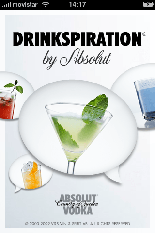 Drinkspiration by Absolut para iPhone 9