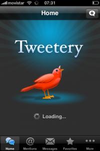 Análisis de clientes twitter gratuitos para iPhone 2