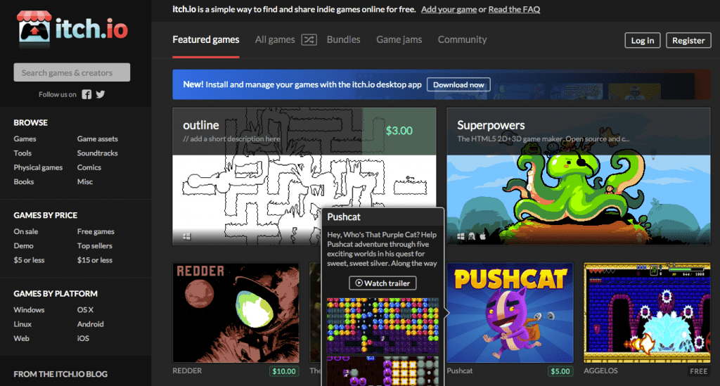 App Stores, Steam y la pobreza Indie: la Web como alternativa. 4